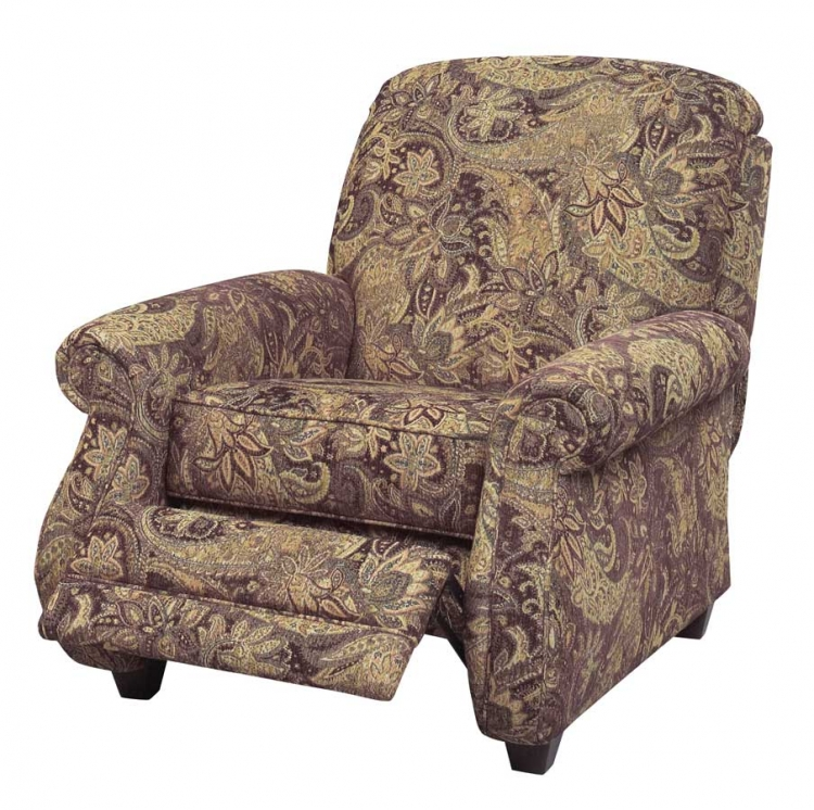 Suffolk Reclining Chair - Eggplant - Jackson