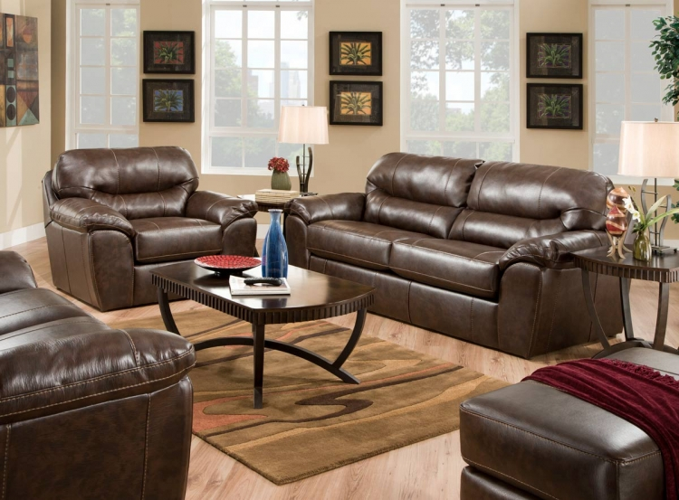 Awesome Comfortable Family Room Furniture Part - 8: Brantley Sofa Set