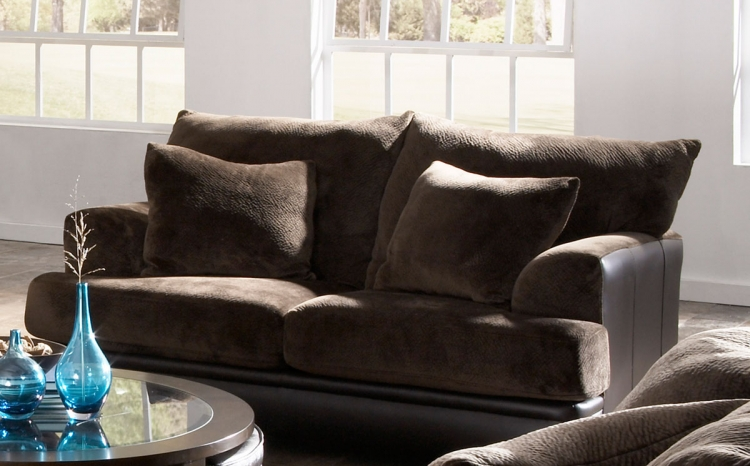 Barkley Loveseat - Chocolate - Jackson