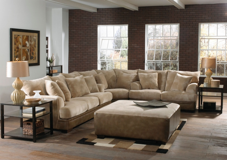 Barkley Sectional Sofa Set - Toast