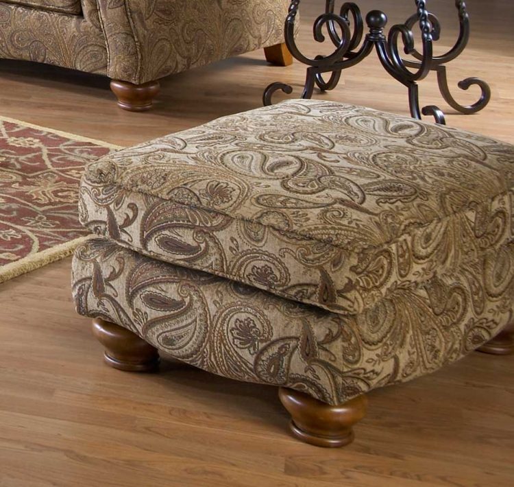 Bellingham Ottoman - Antique - Jackson