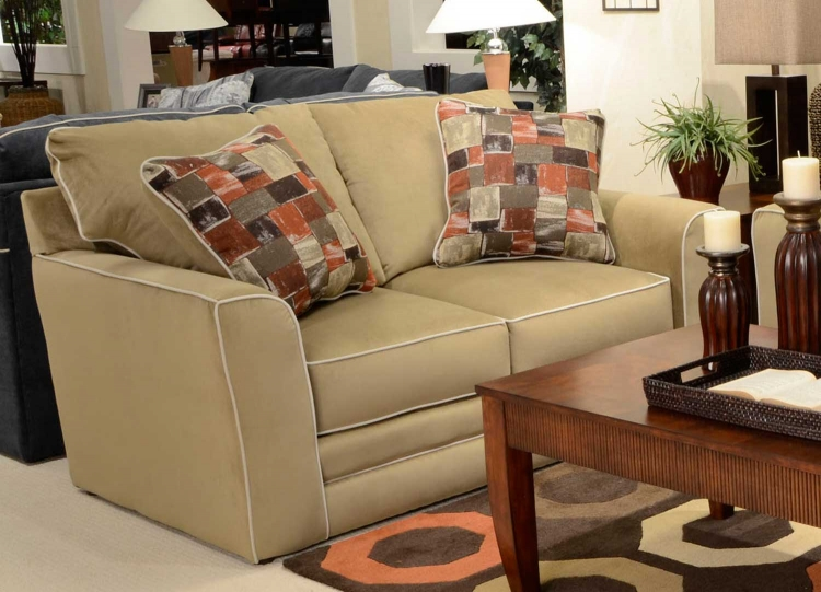 Coronado Loveseat - Brown Sugar