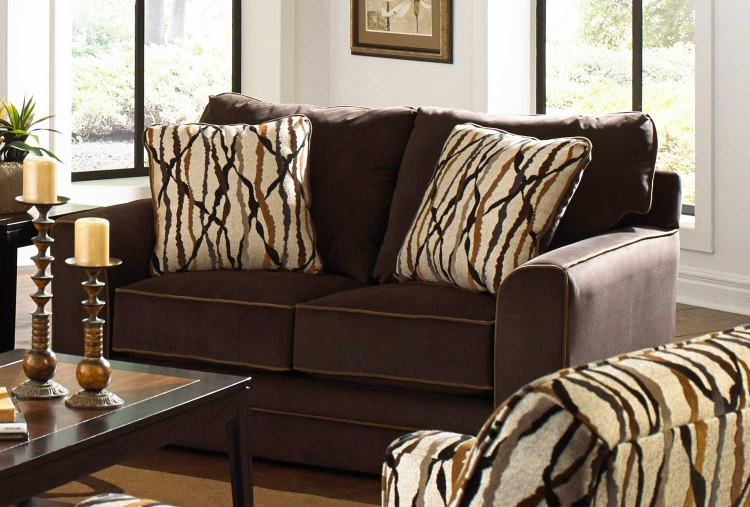 Coronado Loveseat - Chocolate