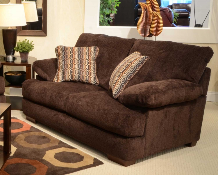 Armstrong Loveseat - Chocolate Color