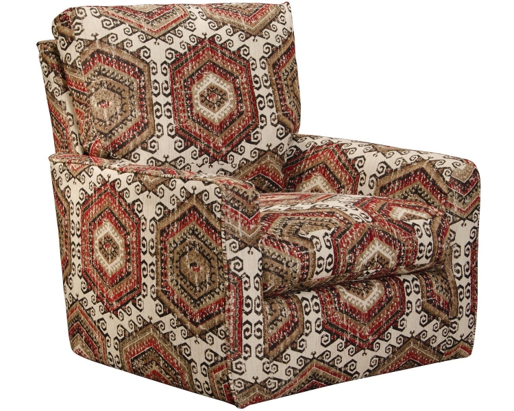 Westchester Accent Swivel Chair - Hemp