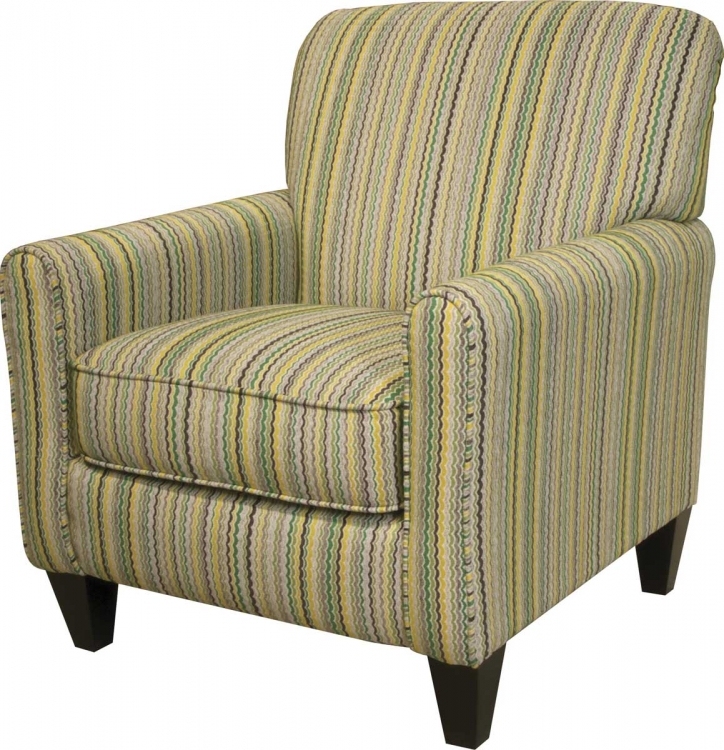 Zachary Accent Chair - Lemon-Lime