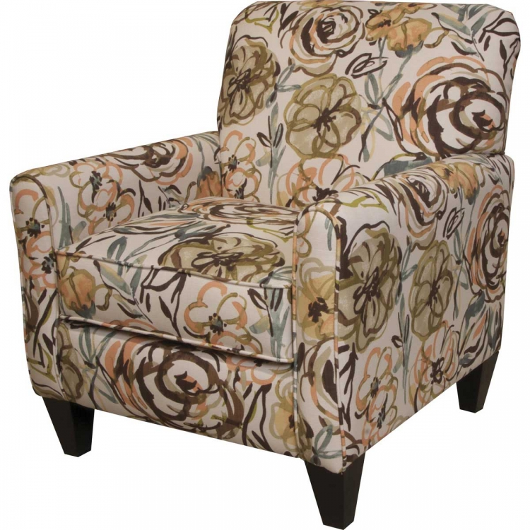Zachary Accent Chair - Mocha