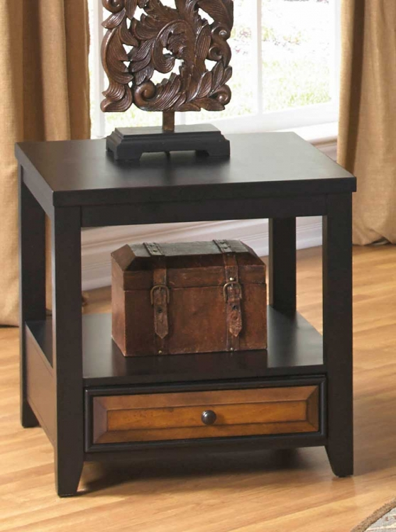 857 Series End Table with Apothecary Drawer