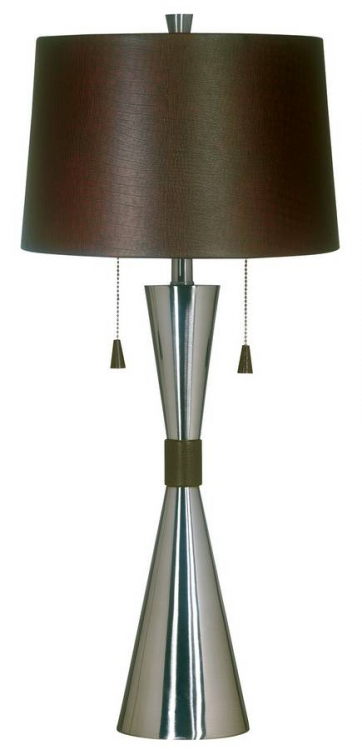 Bella Table Lamp - Brushed Steel - Kenroy Home
