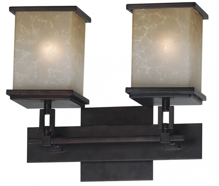 Plateau 2 Light Vanity - Kenroy Home