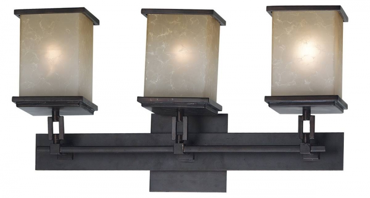 Plateau 3 Light Vanity - Kenroy Home