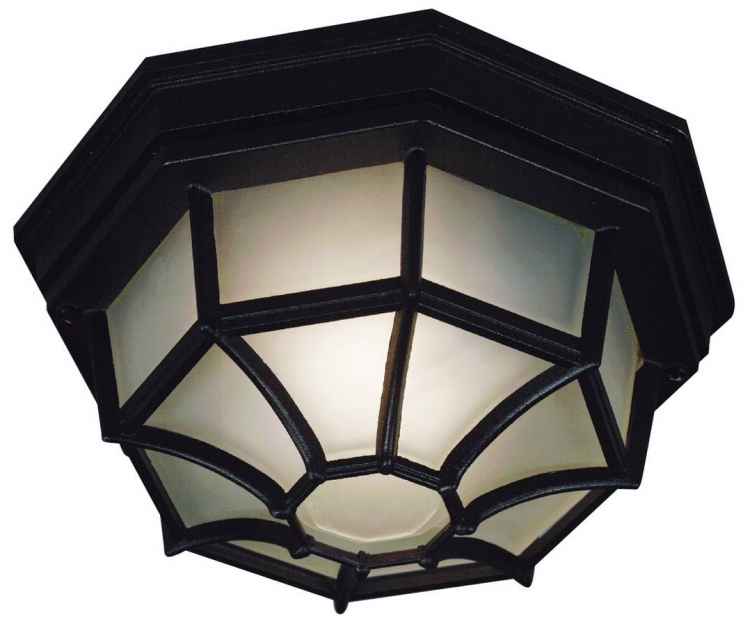 Dural Flush Mount - Black
