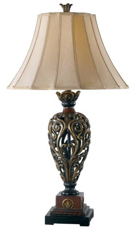 Iron Lace Table Lamp - Kenroy Home