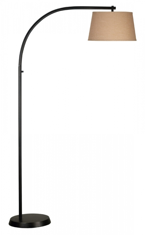 Sweep 1 Light Floor Lamp - Oil Rubbed Bronze