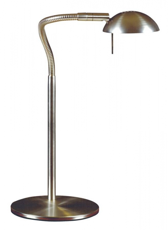 Basis Desk Lamp - Brushed Steel
