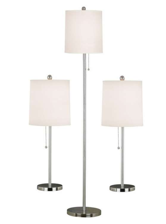 Selma 1 Light Table and Floor Lamp - Set of 3 - Kenroy Home