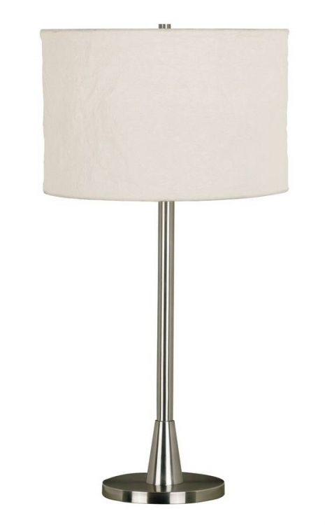 Rush Table Lamp - Brushed Steel
