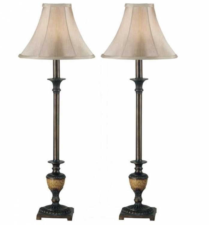 Emily Buffet Lamp - Set of 2