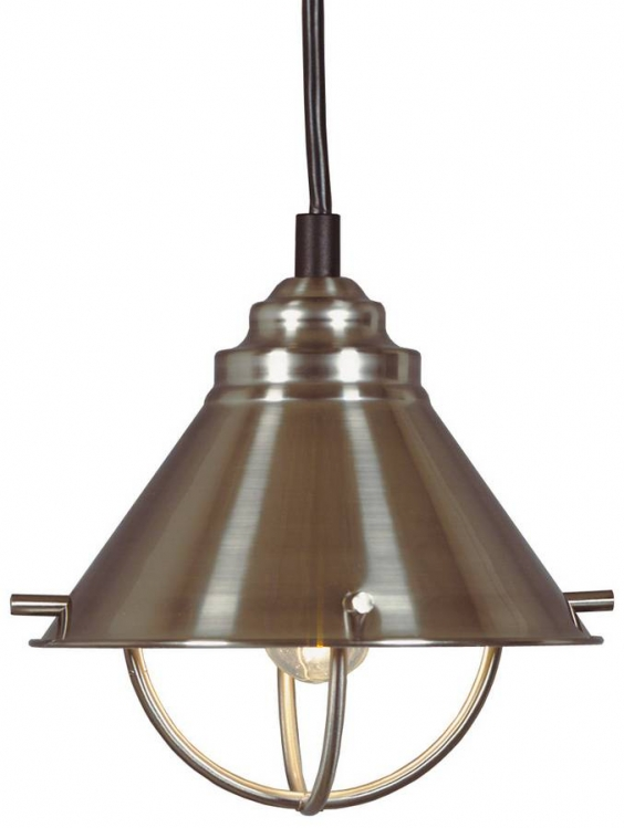 Harbor Mini Pendant - Brushed Steel
