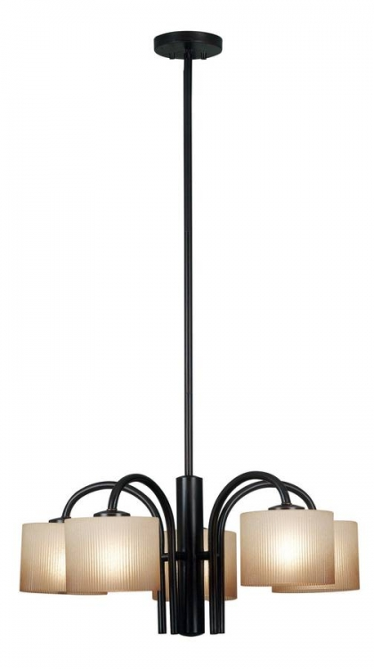 Matrielle 5 Light Chandelier - Kenroy Home