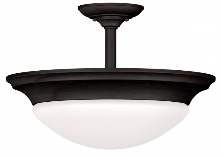 Dickens Semi-Flush - Oil Rubbed Bronze