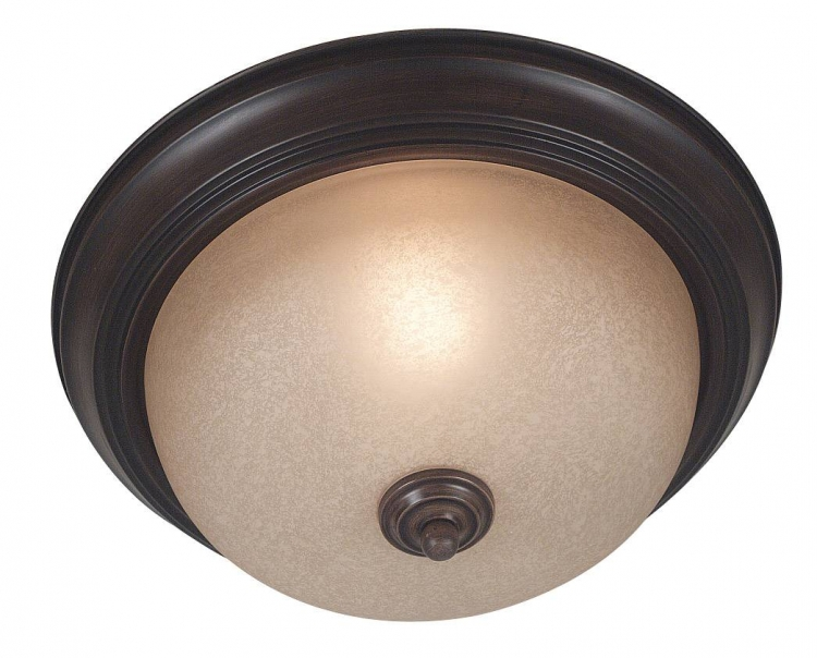 Triomphe Small Flush - Cocoa - Kenroy Home