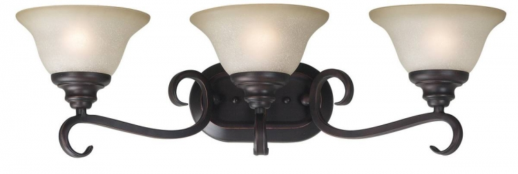 Welles 3 Light Vanity - Oil Rubbed Bronze