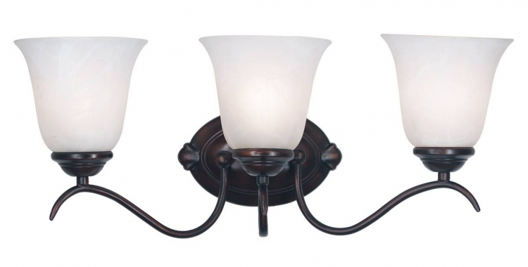 Medusa 3 Light Vanity - Oil Rubbed Bronze - Kenroy Home