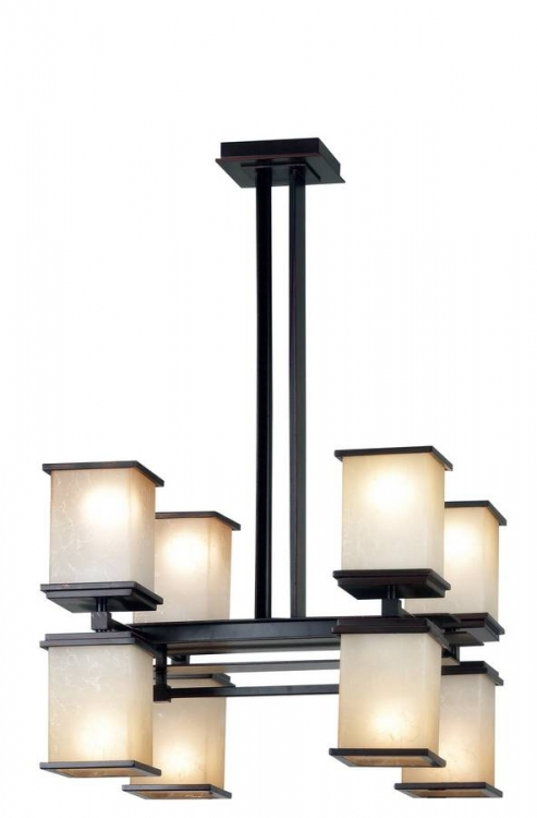 Plateau 8 Light Chandelier