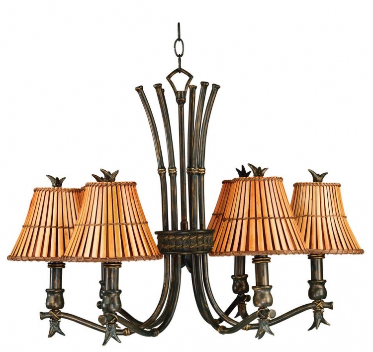 Kwai 6 Light Chandelier - Kenroy Home