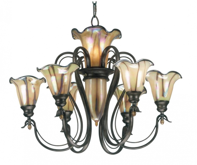 Inverness 9 Light Chandelier - Kenroy Home