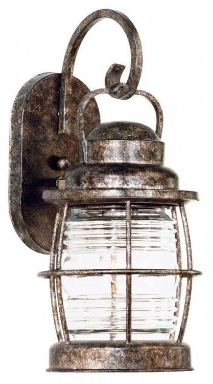 Beacon Small Wall Lantern - Flint - Kenroy Home
