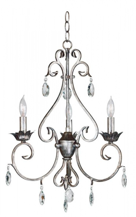 Antoinette 3 Light Chandelier - Kenroy Home