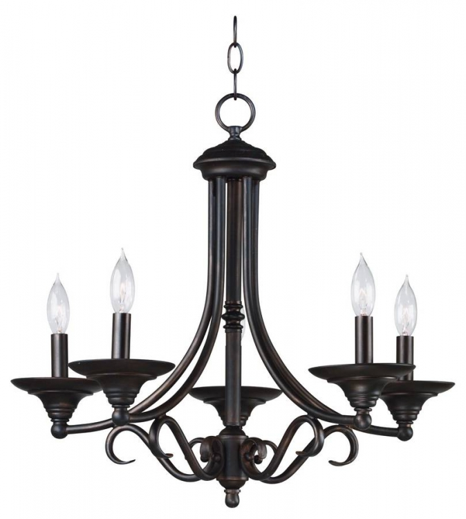 Hamilton 5 Light Chandelier - Kenroy Home