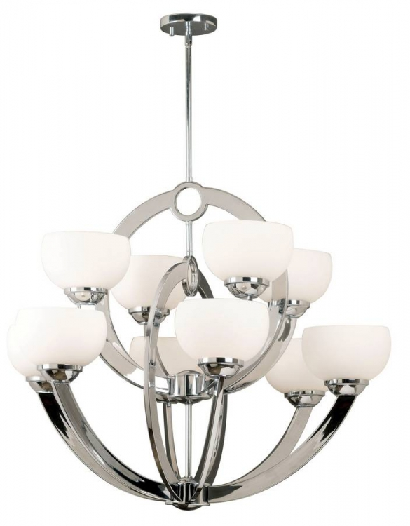 Nova 10 Light Chandelier - Kenroy Home