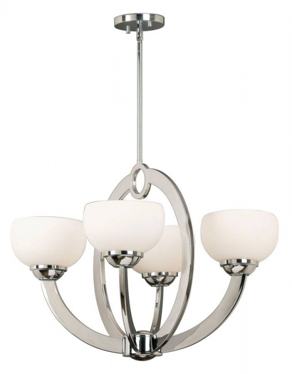 Nova 4 Light Chandelier - Kenroy Home