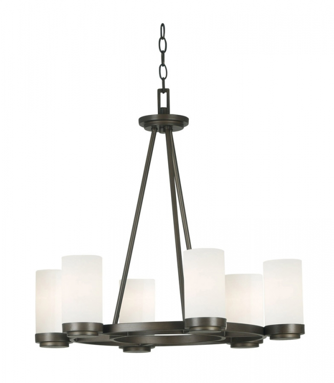 Toronto 6 Light Chandelier - Kenroy Home