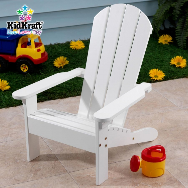 Adirondack Chair - White - KidKraft