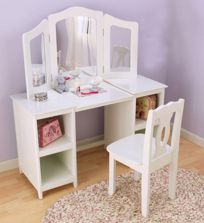 Deluxe Vanity and Chair - KidKraft