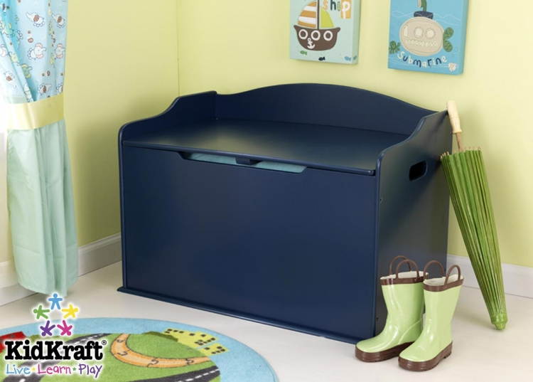 Austin Toy Box - Blueberry