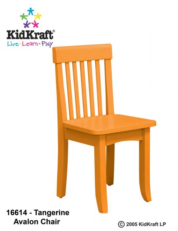 Avalon Chair - Tangerine - Kidkraft