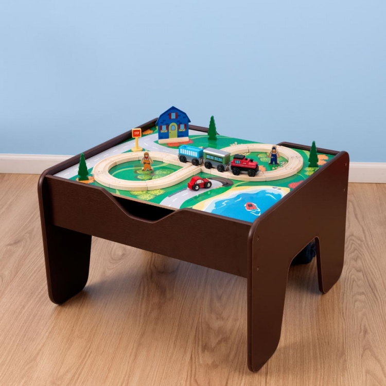 Activity Table Lego compatible - Espresso