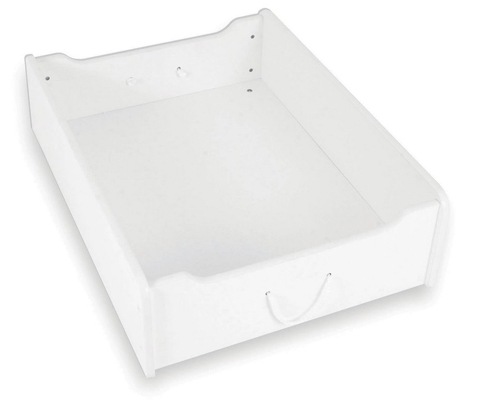 Train Trundle Drawer - White