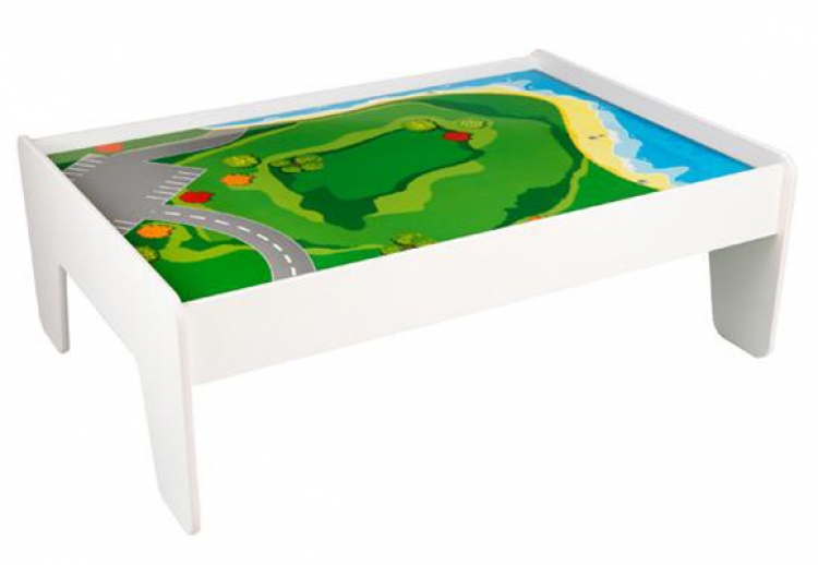 Train Table - White - KidKraft