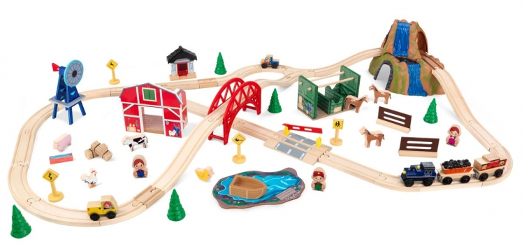 Farm Train Set - KidKraft