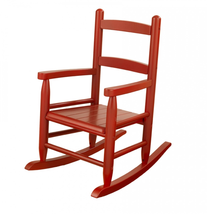 2-Slat Rocker - Cranberry