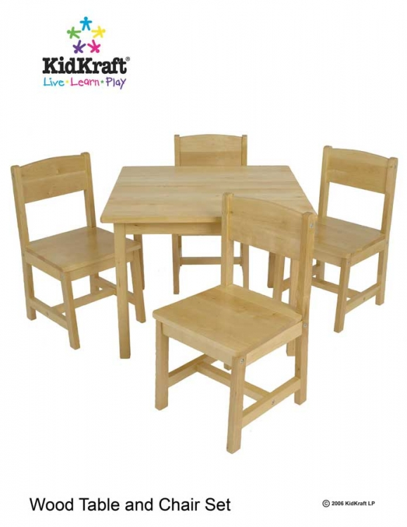Farmhouse Table and 4 Chairs - Kidkraft