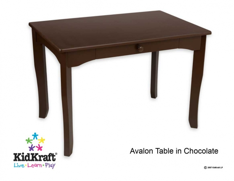 Avalon Table- Chocolate - Kidkraft