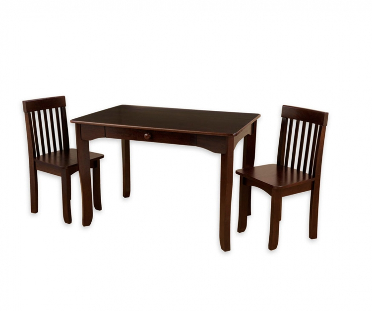 Avalon Table and Chair Set - Espresso