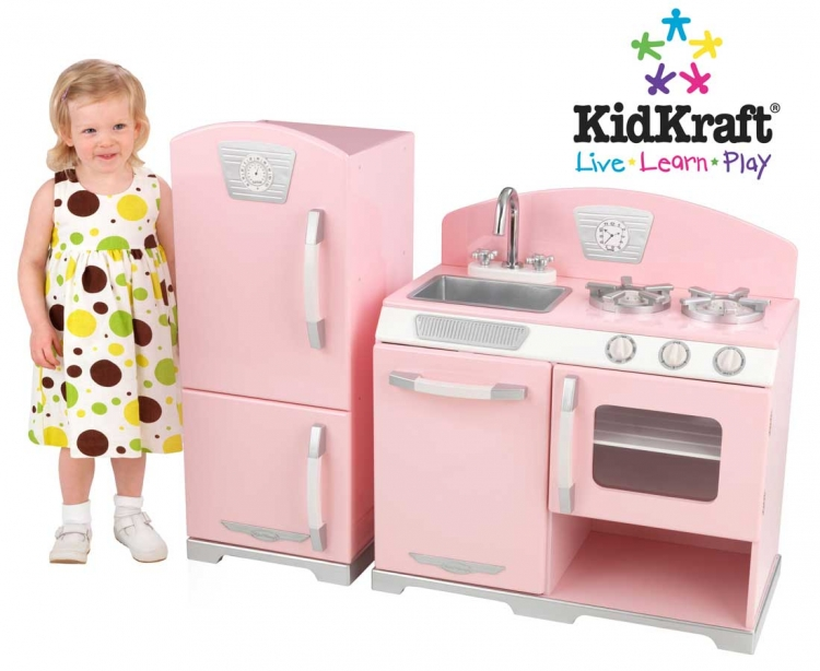 Pink Retro Kitchen - Kidkraft